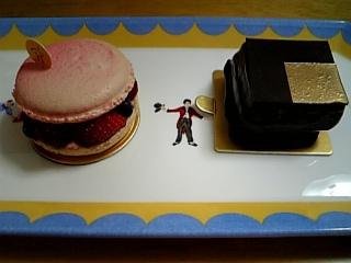 今月(?)のエルメのケーキ