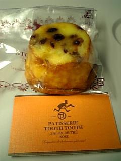 PATISSRIE TOOTH TOOHのお菓子